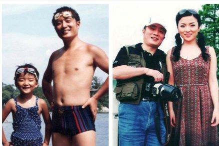 Krásné časosběrné snímky. Tatínek se fotil s dcerou 35 let na stejném místě