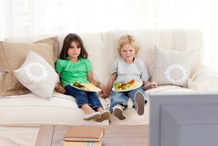 děti a sledování televize