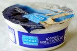 Elinas jogurt řeckého typu, skoro deset procent tuků, 4 gramy tuku ne sto gramech výrobku