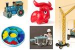 Retro hračky se vrací! Nafukovací slon, beruška na klíček i igráček