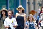 Angelina s dětmi
