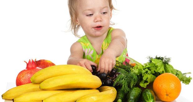 Dětem nic nenuťte, ale nabídněte více druhů ovoce