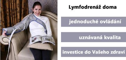 Lymfodrenáž Q-1000 PLUS je skvělým řešením, jak si užít lymfatickou masáž v pohodlí domova
