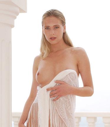 Sexy Kateřina s vtípkem