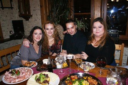Dámský klub s šéfkuchařem Robertem Brožem