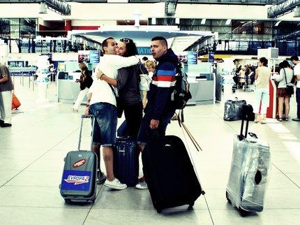 Šilhánová a Cejnar se objímali na letišti!