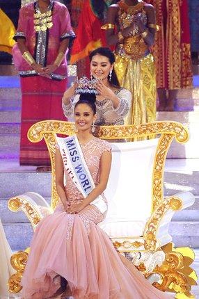 Miss World Megan Young (23) je z Filipín.
