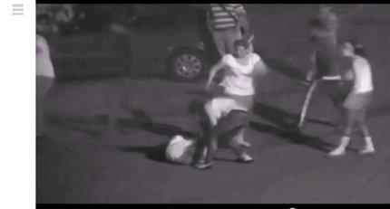 Útočnice srazily ženu na zem a kopaly do ní. Jedna z nich ji tahala za vlasy a tloukla hlavou o zem