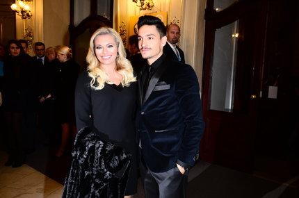 Lucie Borhyová a její partner Michal Hrdlička