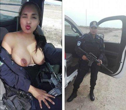 García a její heslo: Pomáhat a prsit!  V uniformě už ji neuvidíte...
