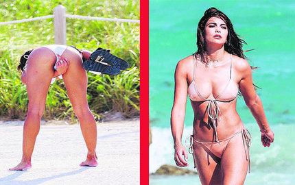 Kyra Santoro si na moc oblečení nepotrpí, neodbytný fotograf ji ale nějak podráždil.