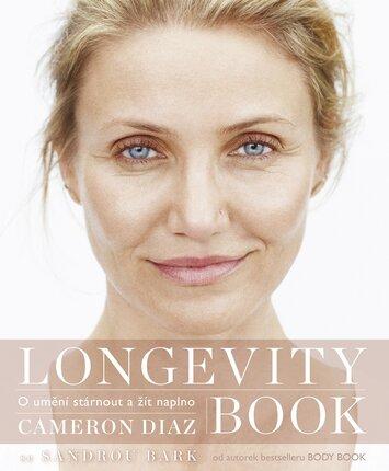 Longevity Book, kniha od Cameron Diaz o umění stárnou a žít naplno, www.jota.cz, 448 Kč.