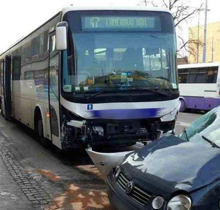 Šofér autobusu přišel do práce pořádně opilý!