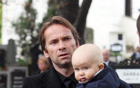 Jan Révai se synem Jakubem.
