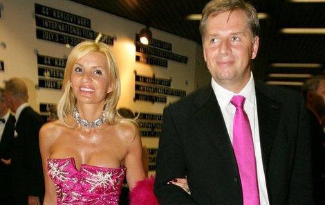 Petr Bendl a jeho exmanželka Tamara.