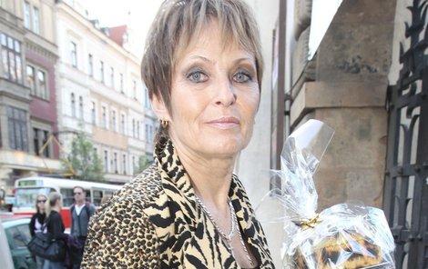 Olga Matušková se ukáže v televizi v pořadu o vaření.