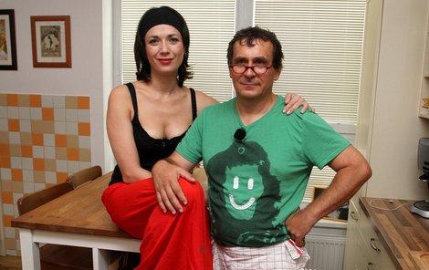 Tereza Kostková a Petr Kracík