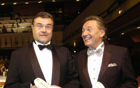 Karel Gott s Karlem Svobodou.