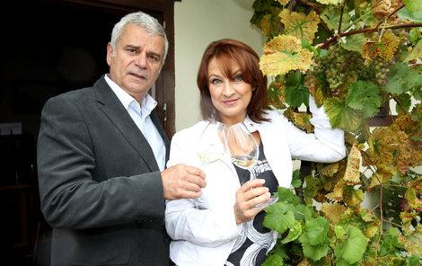 Zlata Adamovská a Petr Štěpánek