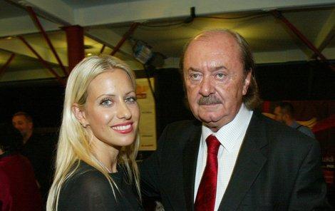 Nejúspěšnější český producent František Janeček se svojí partnerkou Terezou Mátlovou.