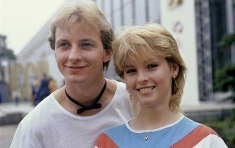 Petr Sepéši a Iveta Bartošová v roce 1983.