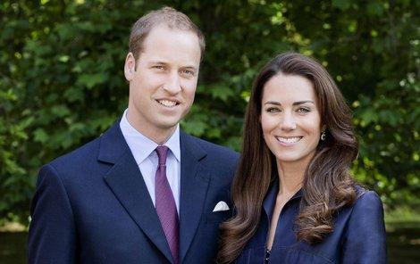 Vévodkyně Kate s princem Williamem.