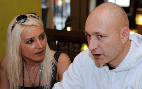 Daniel Landa s Mirjam Landovou.