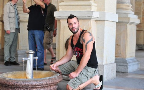 Václav Noid Bárta zkoumal léčivé prameny