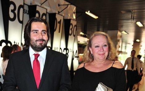 Gábina Osvaldová s milencem Mirkem