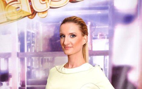 Adela Banášová v show Recept na bohatství