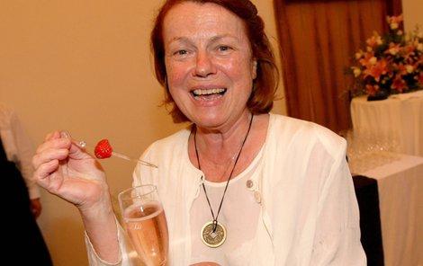 Iva Janžurová vzala vnoučka do víru festivalového života.