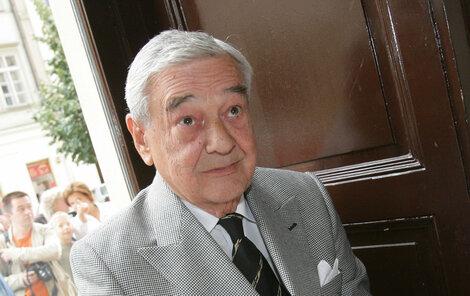 Nezapomenutelný Josef Vinklář.