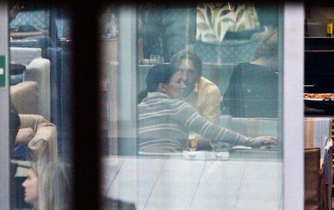 Partyšová se s novým chlapem sešla v restauraci.