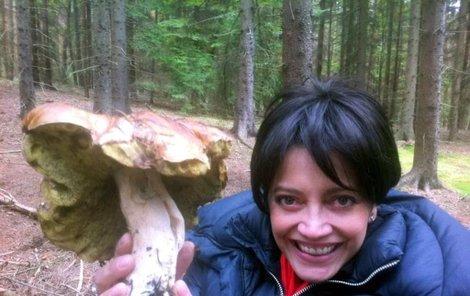 Lucie Bílá měla v lese štěstí!