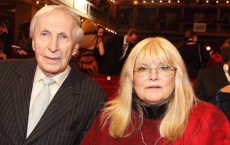 Ladislav Chudík s manželkou Alenou.