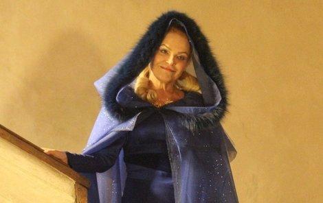 K finální podobě kostýmu přispěla Havlová několika nápady.