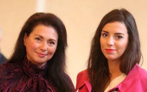 Jana Bobošíková s dcerou Janou.