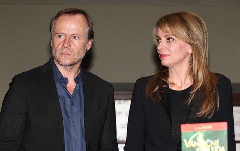 Karel Roden s Ivanou Chýlkovou