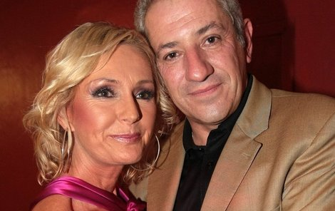 Martin Michal s Helenou Vondráčkovou.