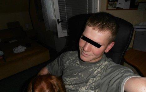 Michal, kterého zavraždil otec, pár dní před smrtí.