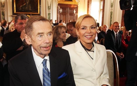 Herečce je líto, že ji Václav Havel už neuvidí v nové roli, kterou právě na Vinohradech studuje.
