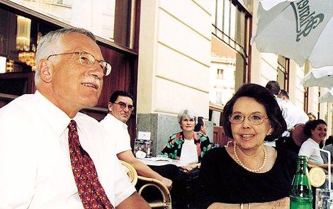 Jirásková s Klausem