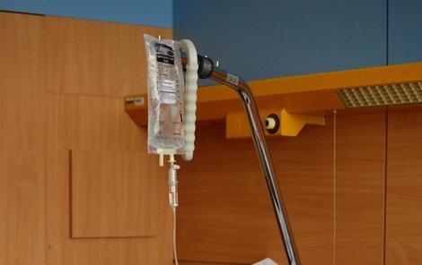Jana Adamcová si musí na nemocnici zvyknout. Nějaky čas tu ještě pobude...