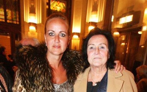 Vendula Svobodová  s maminkou