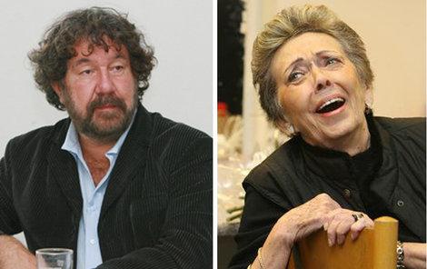 Zdeněk Troška a Jiřina Jirásková