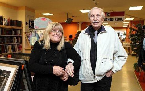 Ladislav Chudík s manželkou Alenou