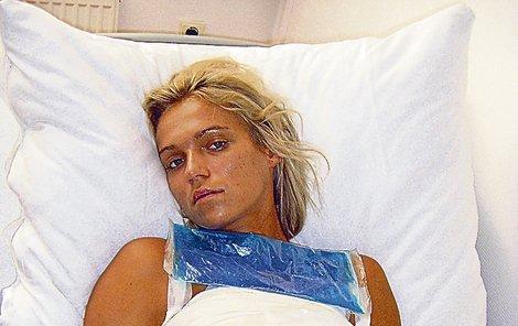 Mašlíková je v nemocnici