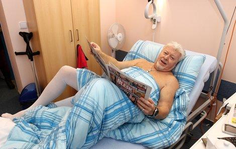 Drobný v nemocnici