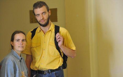 Hana K. s manželem Martinem.