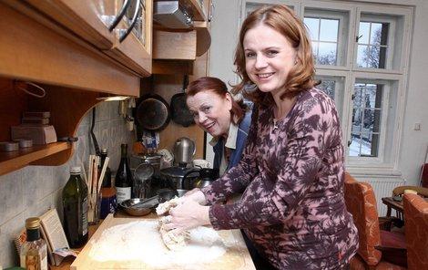 Iva Janžurová s dcerou Theodorou Remundovou